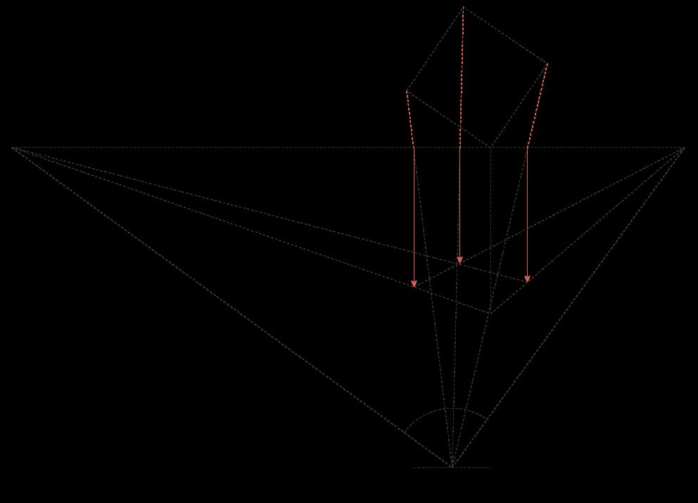 Perspektive einer Architektur-Darstellung 3