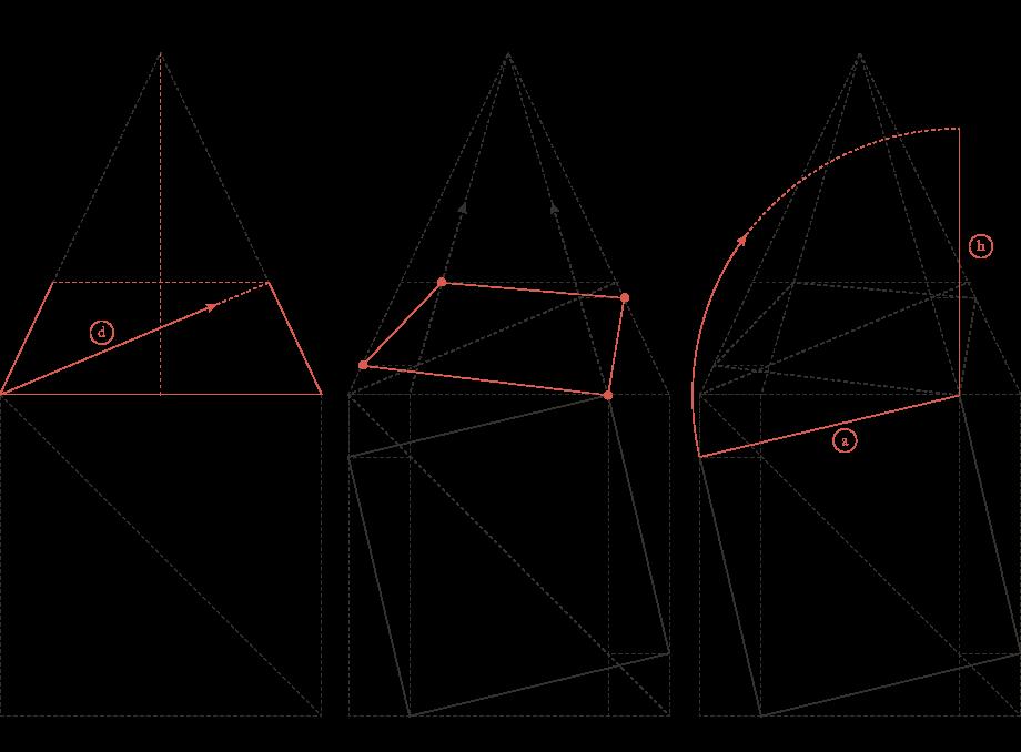 Perspektive eines Würfels 1
