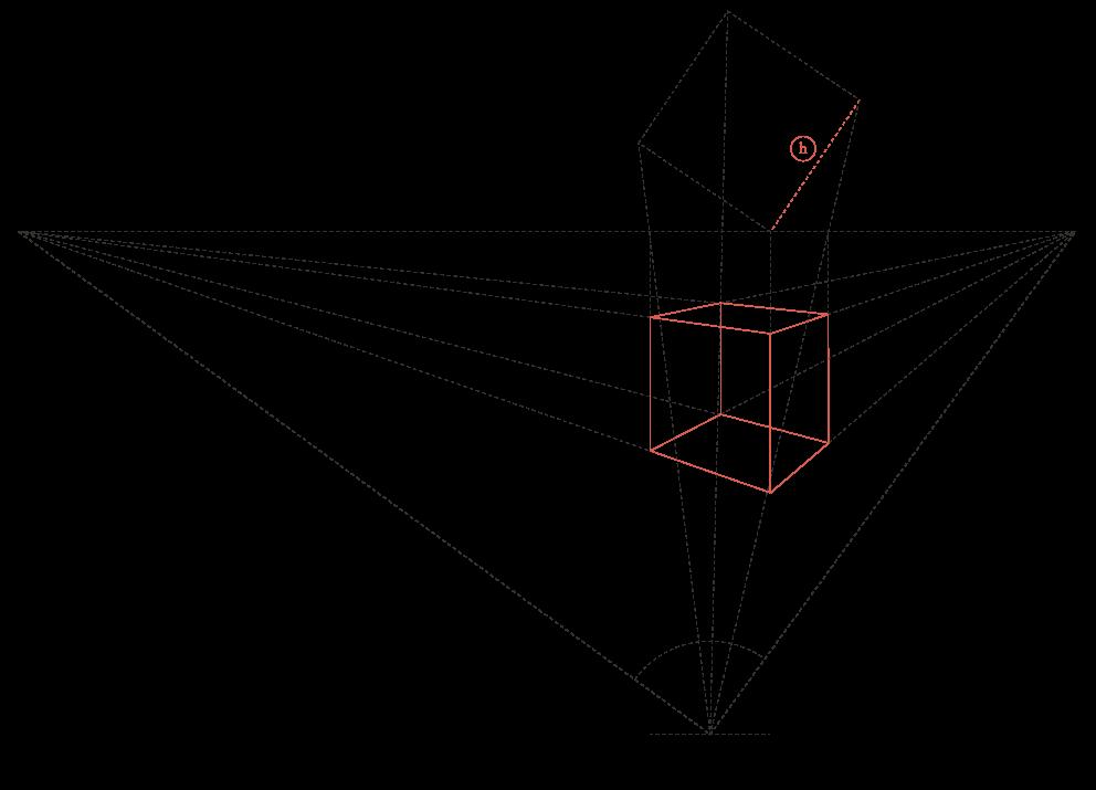 Perspektive einer Architektur-Darstellung 4